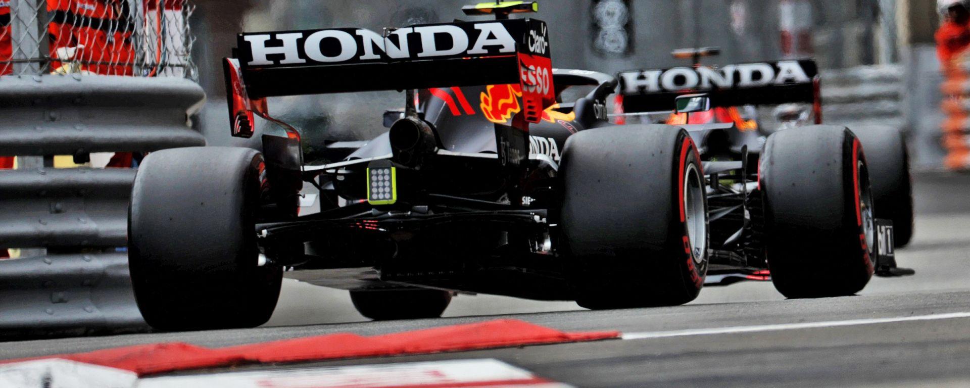 F1 2021: la Red Bull vista dal posteriore