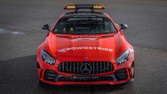 F1 2021: la Safety Car Mercedes AMG GT R nella nuova livrea rossa
