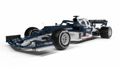 F1 2021, la Scuderia AlphaTauri AT02 (vista 3/4 anteriore)