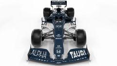 F1 2021, la Scuderia AlphaTauri AT02 (vista anteriore)