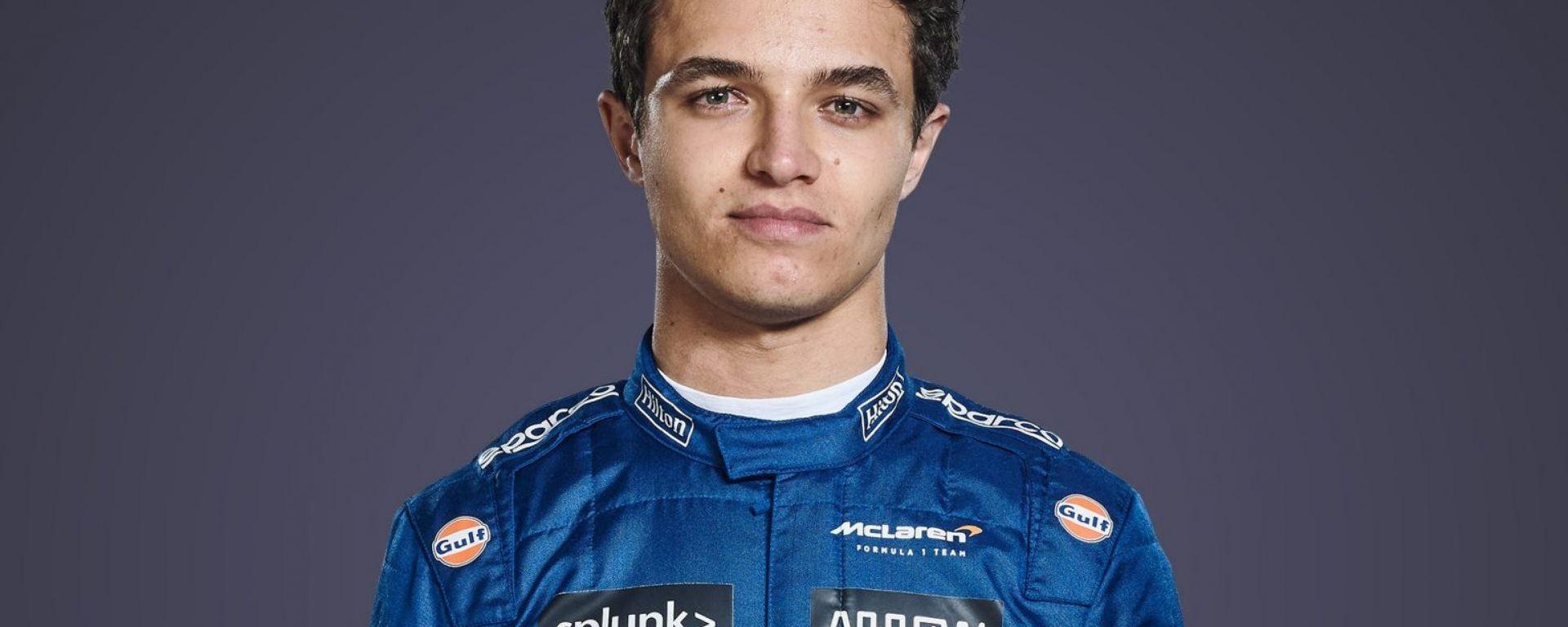 F1 2021, Lando Norris (McLaren)