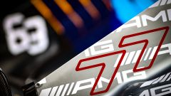 F1 2021: le monoposto di Valtteri Bottas (Mercedes) e George Russell (Williams)