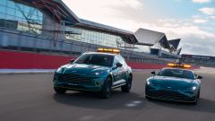 F1 2021: le nuove Safety Car e Medical Car Aston Martin Vantage e DBX