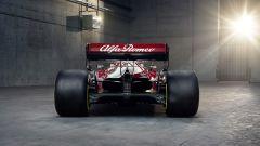 F1 2021, le prime immagini dell'Alfa Romeo Racing C41 (vista posteriore)
