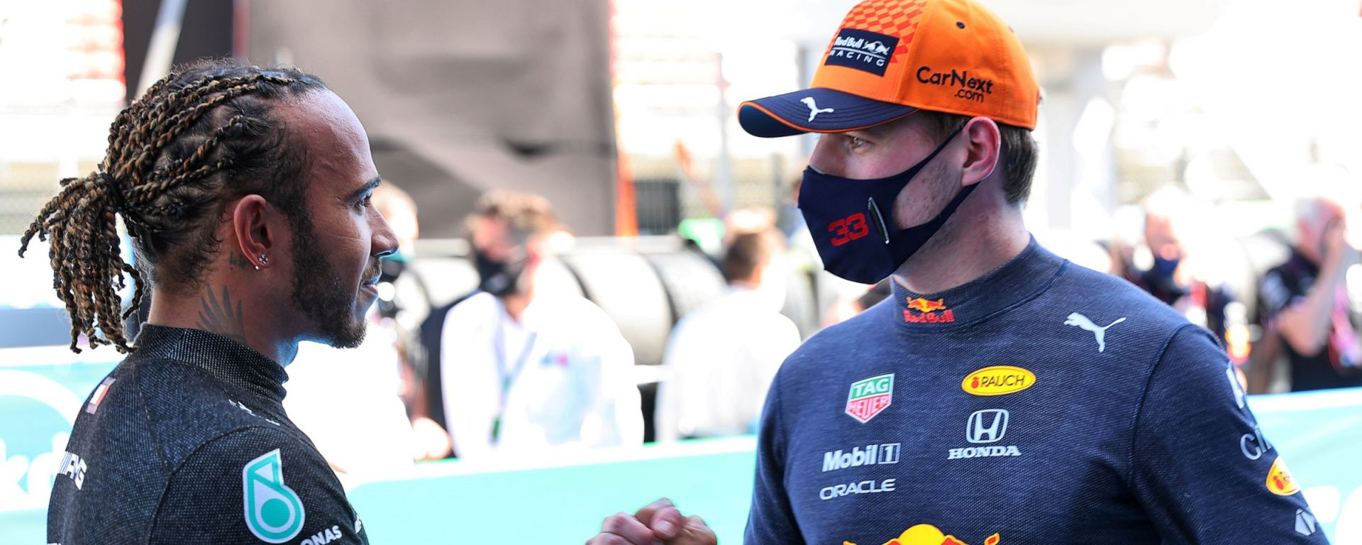 F1 2021: Lewis Hamilton e Max Verstappen