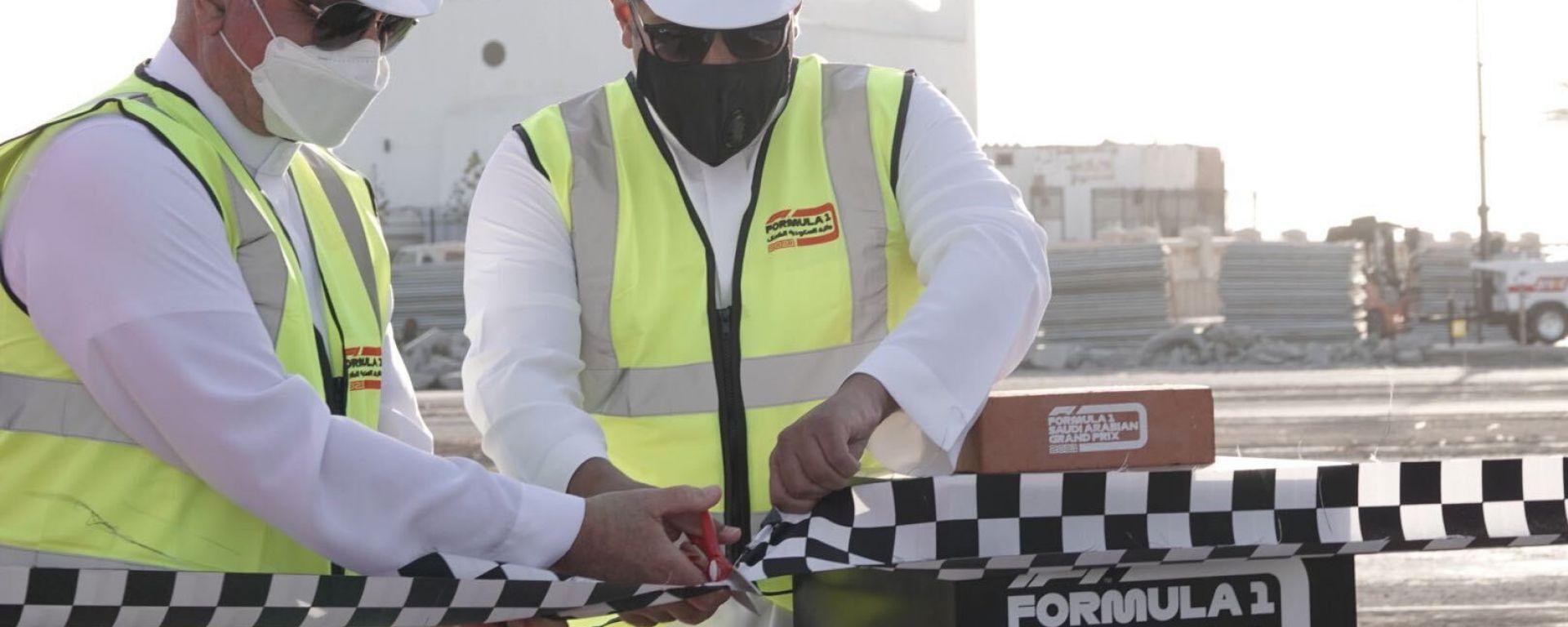 F1 2021: l'inizio dei lavori sul circuito cittadino di Gedda