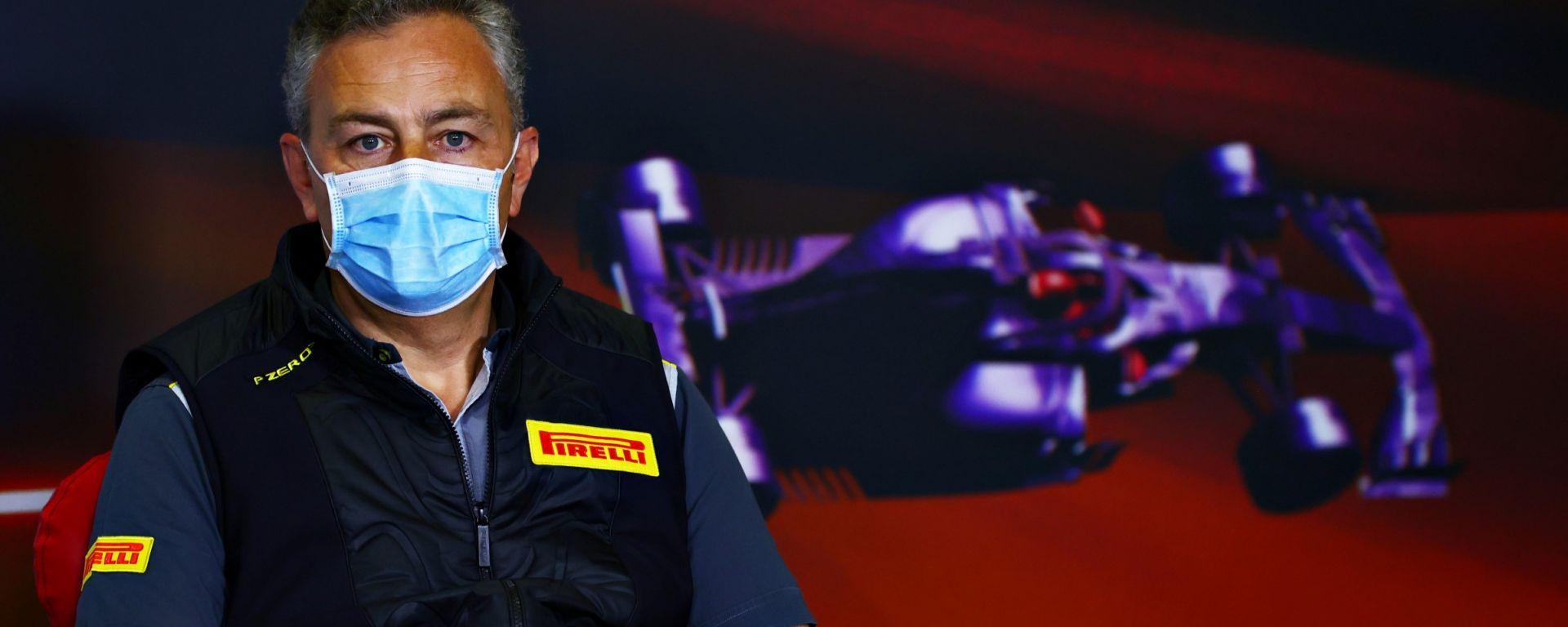 F1 2021: Mario Isola (Pirelli)