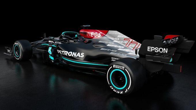 F1 2021: Mercedes W12 E Performance