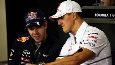 F1 2021: Sebastian Vettel e Michael Schumacher