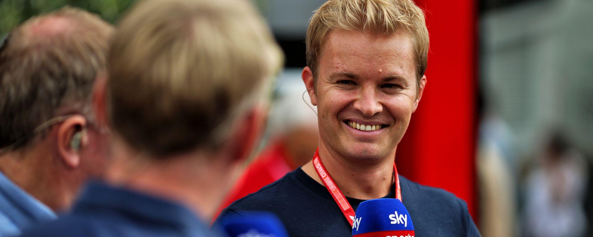 F1, Sky annuncia i Gp in chiaro su TV8. E Rosberg prende il posto di Villeneuve