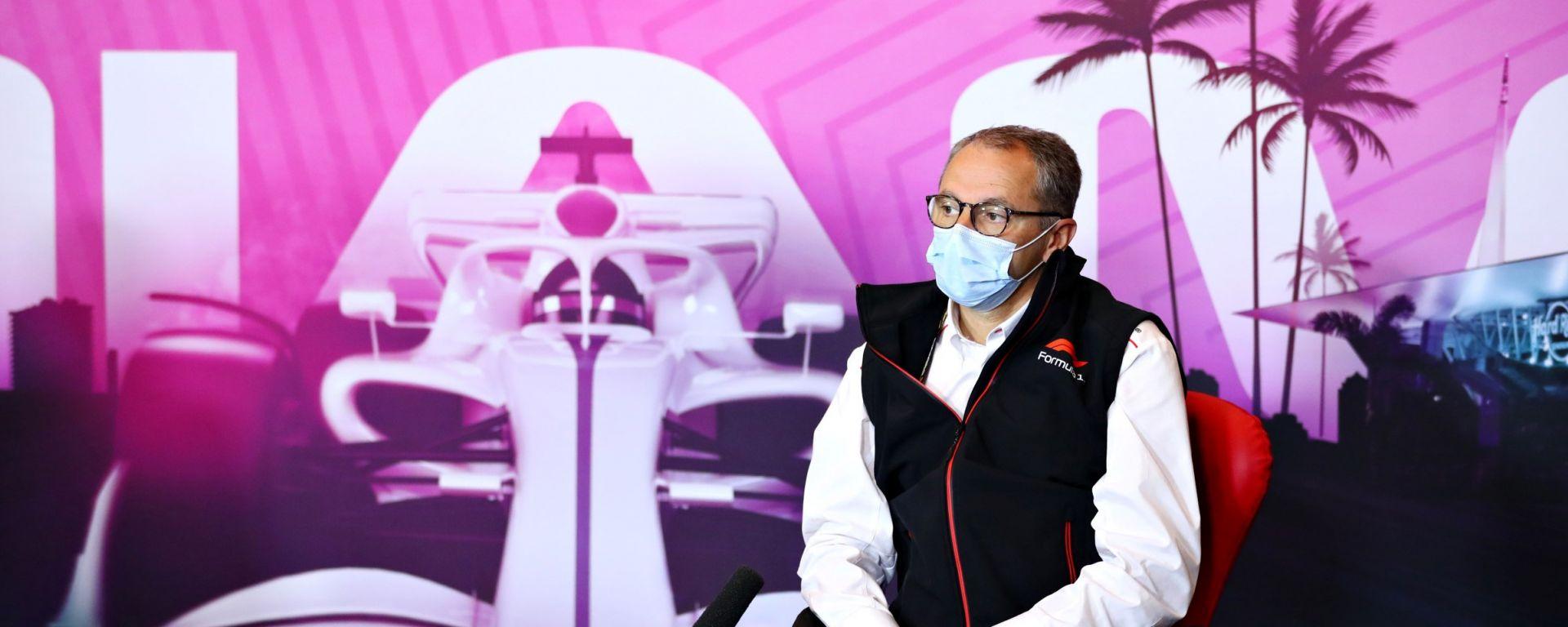 F1 2021: Stefano Domenicali, CEO della Formula 1