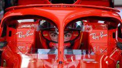 F1 2021, test Ferrari a Fiorano: Carlos Sainz a bordo della Ferrari SF71H