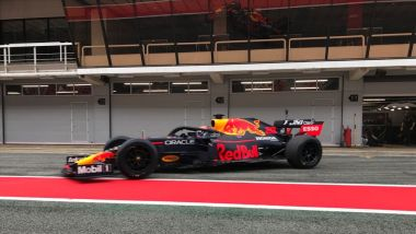 F1 2021 Test Pirelli, Barcellona: Alexander Albon (Red Bull Racing)
