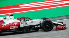 F1 2021 Test Pirelli, Barcellona: Robert Kubica (Alfa Romeo Racing)
