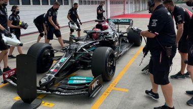 F1 2021, Test Pirelli Budapest: George Russell (Mercedes AMG F1)