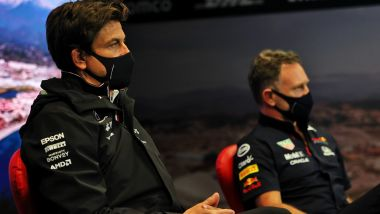 F1 2021: Toto Wolff e Chris Horner