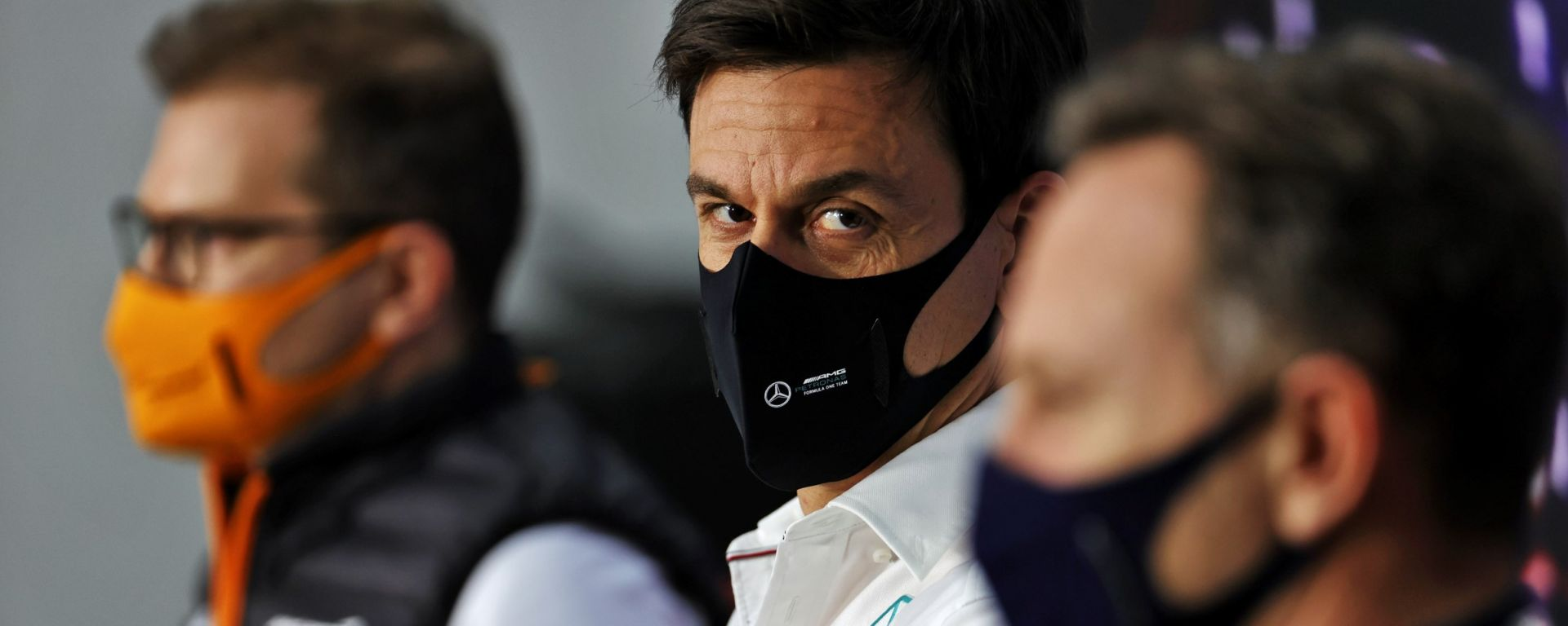 F1 2021: Toto Wolff (Mercedes) in conferenza stampa
