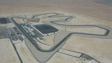 F1 2021, una vista aerea del circuito di Losail