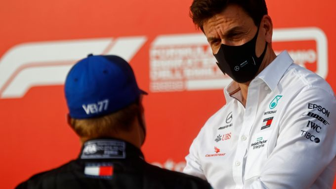 F1 2021: Valtteri Bottas e Toto Wolff
