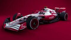 F1 2022, il concept della Alfa Romeo Racing 2021