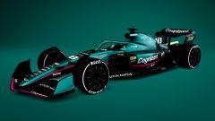 F1 2022, il concept della Aston Martin Racing 2021