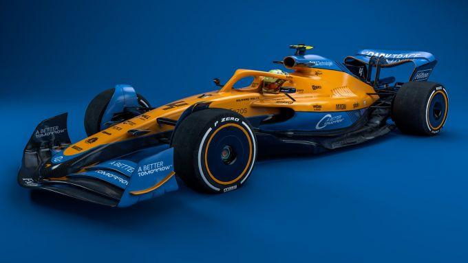 F1 2022, il concept della McLaren F1 Team 2021