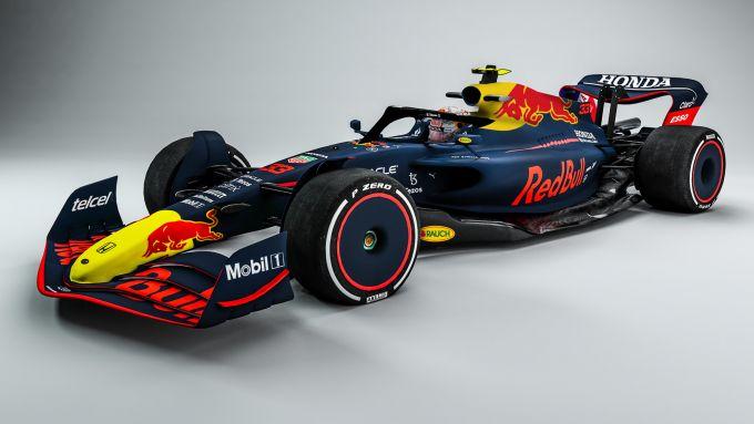 F1 2022, il concept della Red Bull Racing 2021