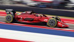 F1 2022, uno dei rendering delle nuove monoposto