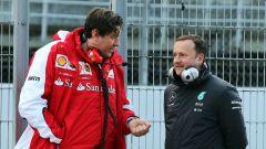 F1, Alessandro Cinelli in una foto del 2015 con i colori della Ferrari (durante i test di Barcellona)
