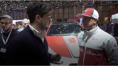 Ginevra, Raikkonen allo stand Alfa: a Kimi manca la Ferrari? - Immagine: 1
