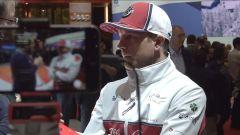 Ginevra, Raikkonen allo stand Alfa: a Kimi manca la Ferrari? - Immagine: 2