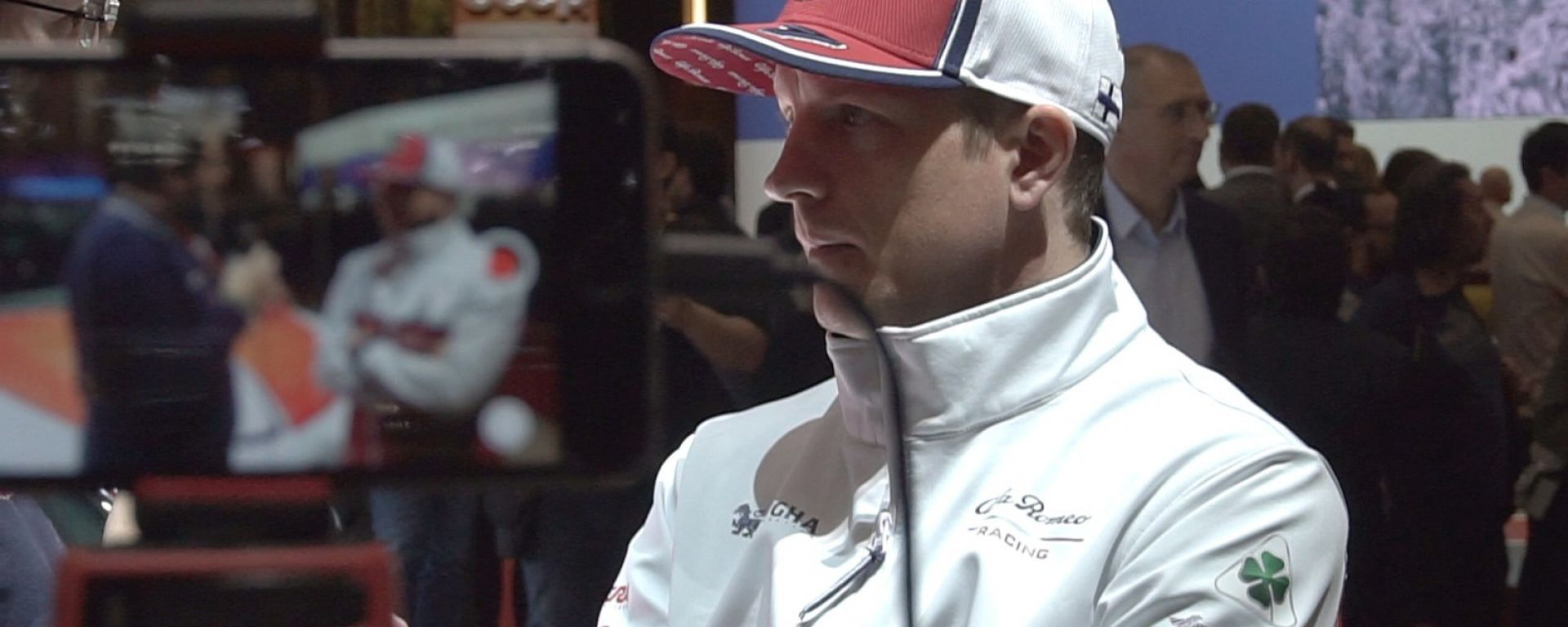 Ginevra, Raikkonen allo stand Alfa: a Kimi manca la Ferrari?