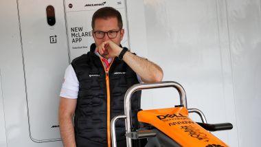 F1: Andreas Seidl, team principal McLaren