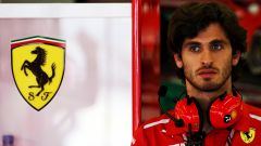 F1: Antonio Giovinazzi con la divisa Ferrari
