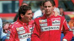 F1: Ayrton Senna e Gerhard Berger ai tempi della McLaren