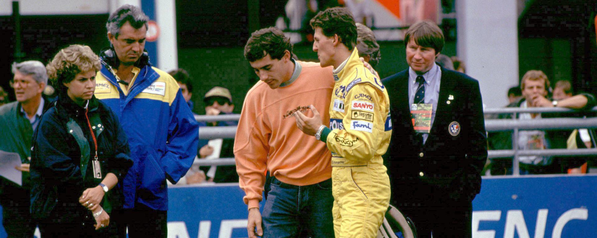 F1, Ayrton Senna e Michael Schumacher
