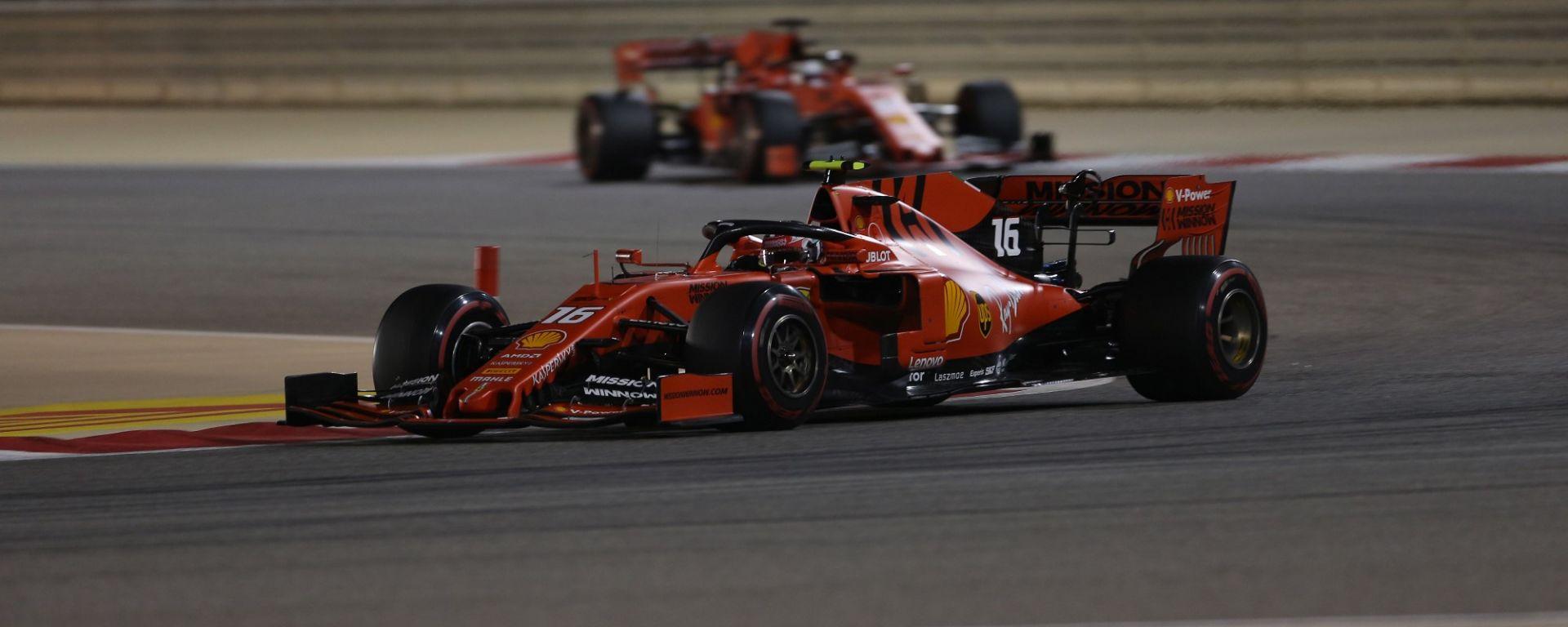 """F1 Bahrain, Leclerc: """"Bella sensazione avere il passo per vincere"""""""