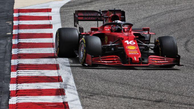 F1 Bahrain Test 2021, Charles Leclerc (Ferrari)