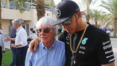 """Ecclestone: """"Hamilton è più grande della F1"""""""