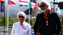 F1: Bernie Ecclestone e Flavio Briatore
