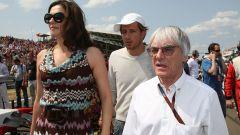 F1: Bernie Ecclestone e l'ex moglie Slavica