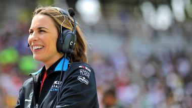 F1, Claire Williams è la vice-team principal dell'omonimo team