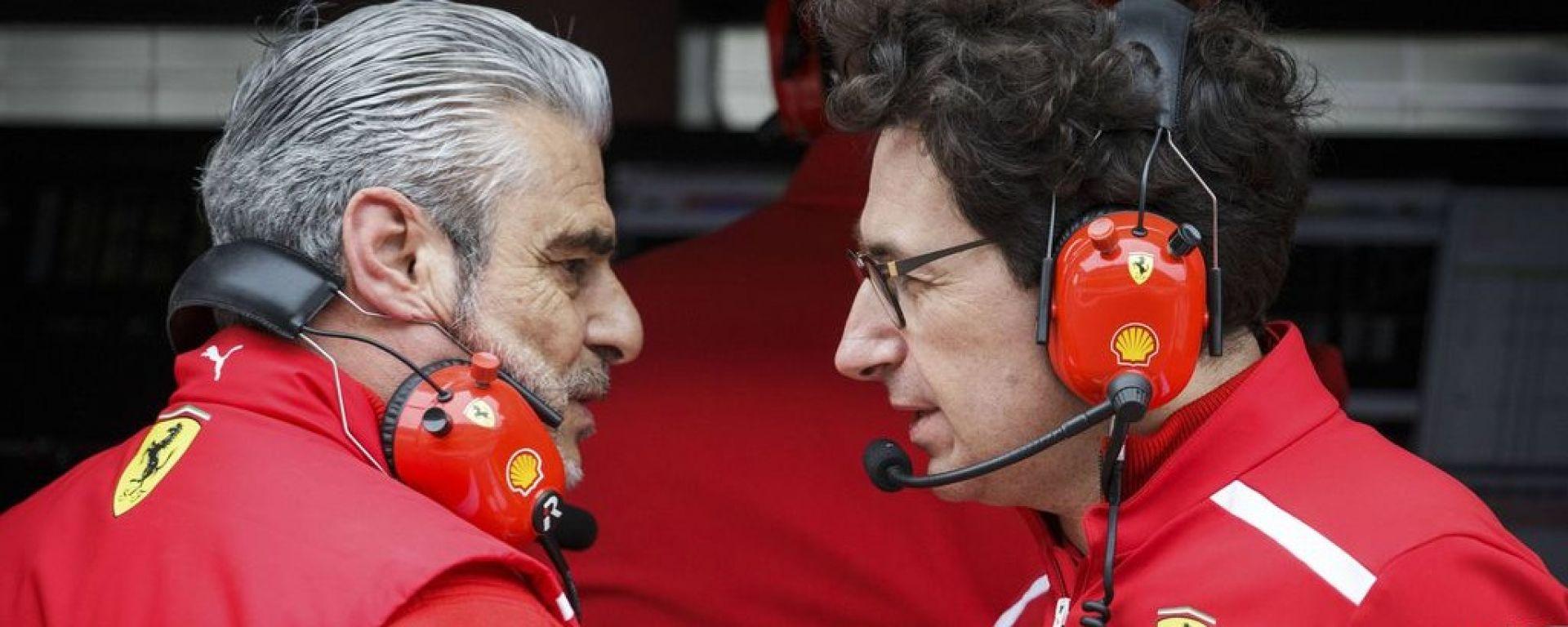 Clamoroso in Ferrari: Binotto team principal! Via Arrivabene