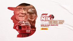 F1 Classics: la locandina del doppio Gp su YouTube in memoria di Niki Lauda