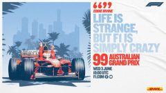 F1 Classics, la locandina del GP Australia 1999 su YouTube