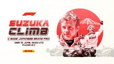F1 Classics, la locandina del GP Giappone 2005 su Facebook e YouTube