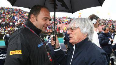 F1: Colin Kolles con Bernie Ecclestone