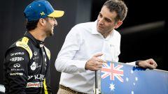 Abiteboul svela le regole del tatuaggio deciso da Ricciardo