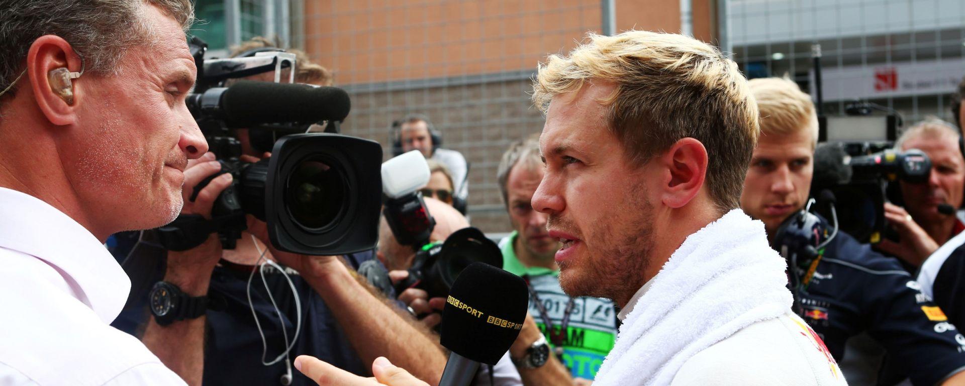 F1: David Coulthard con Sebastian Vettel