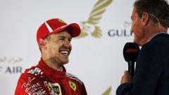 F1, David Coulthard e Sebastian Vettel (Ferrari)